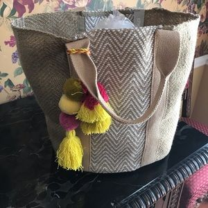 Beach tote by Chico's